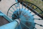 Escada caracol Chalé de Ferro
