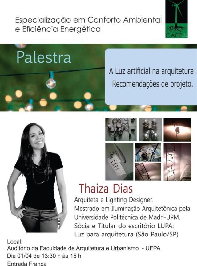 PALESTRA THAIZA