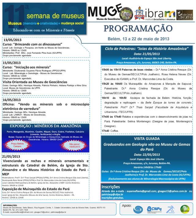 Banner 11ª Semana Nacional dos Museus-final