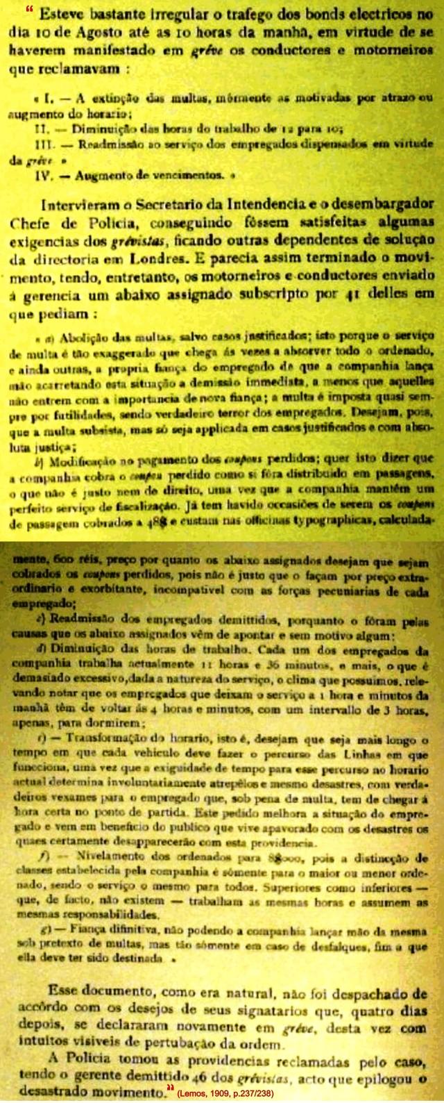 Lemos 1909