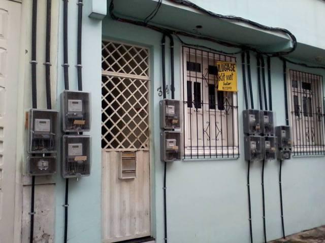 CELPA - contadores de luz em casa situada em área tombada.
