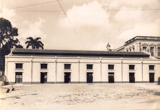 PG 06 Escritório do Tráfego - Vista lateral (Mostrando Sala de Descanso dos Emppregados)
