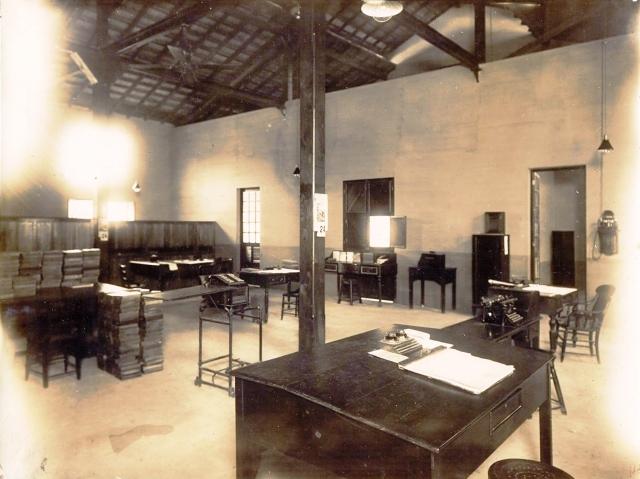 PG 07 Escritório do Tráfego - Sala dos funcionários