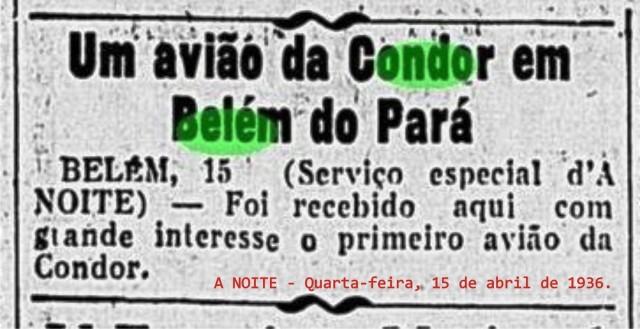 A NOITE - Quarta-feira, 15 de abril de 1936