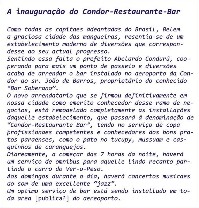 Inauguração Condor2