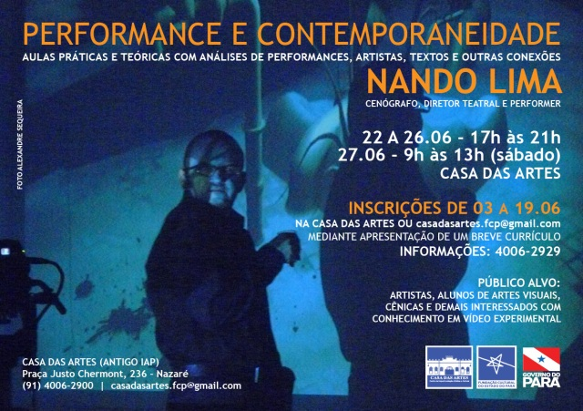 Performance Nando Lima