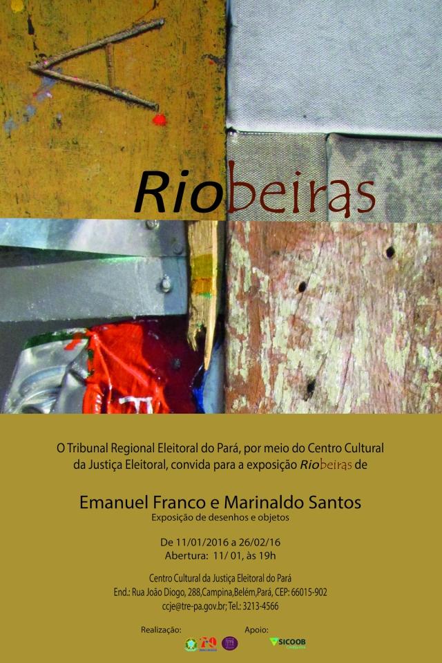 Convite exposição Riobeiras