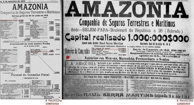 A Pacotilha 1918 e 1919 (3)
