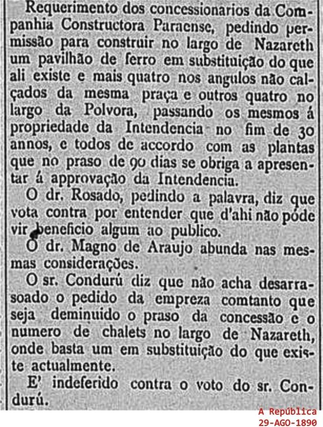 A Repúbica 29AGO1890
