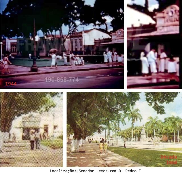 Praça Brasil - quiosque