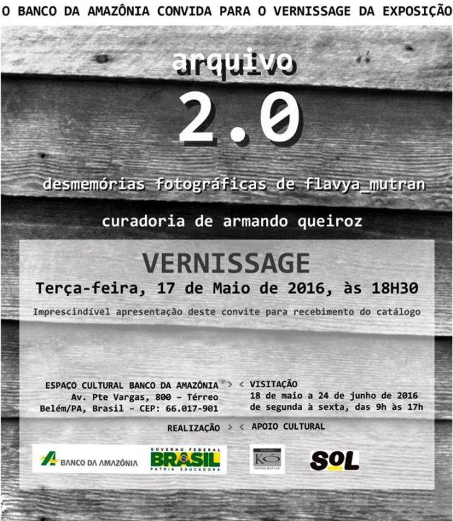 2016 Exposição Arqivo 2.0 Flavya Mutran