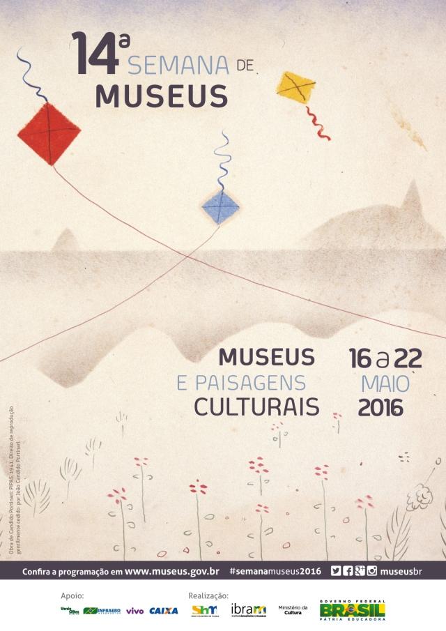 cartaz_A3 14 semana de Museus
