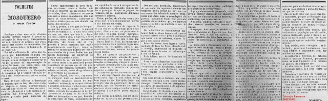 Mosqueiro - COERREIO PARAENSE - 20SET1892