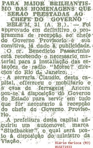 Diário Carioca (RJ) 01SET1933