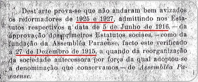 Relatório 1929